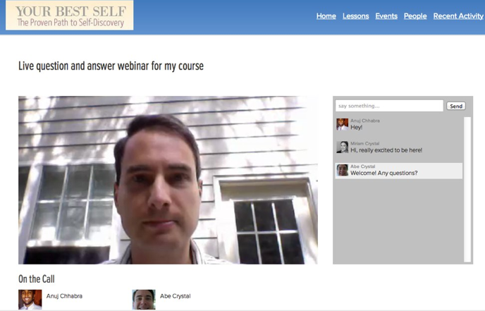 how to host a webinar on facebook live
